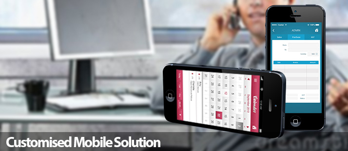 Customised Mobile Solution